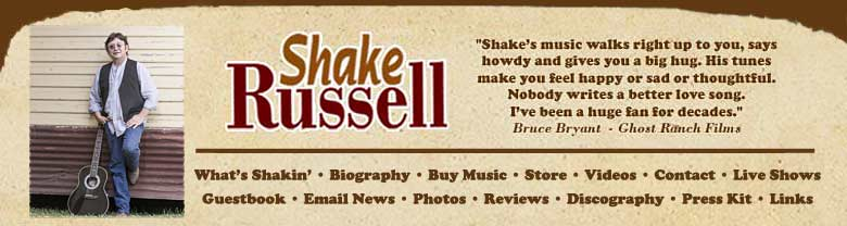 Shake Russell topper